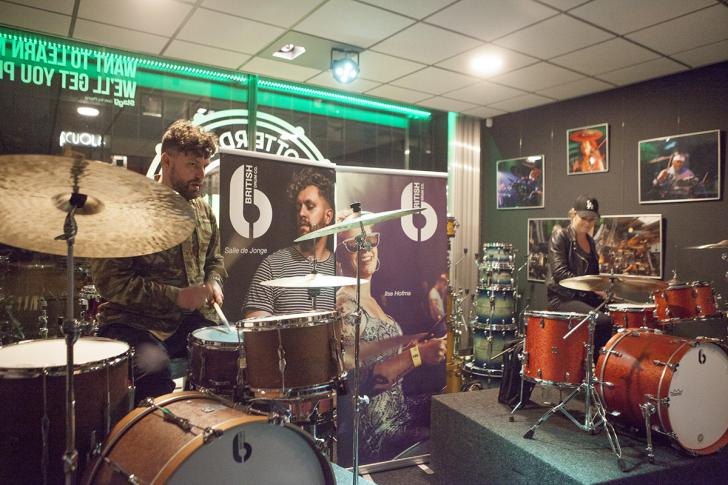 An evening with British Drum Company