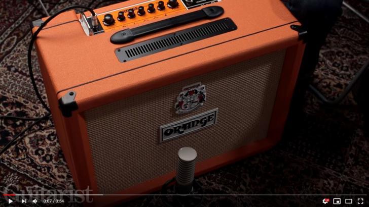 Video bij de Orange test in Gitarist 346