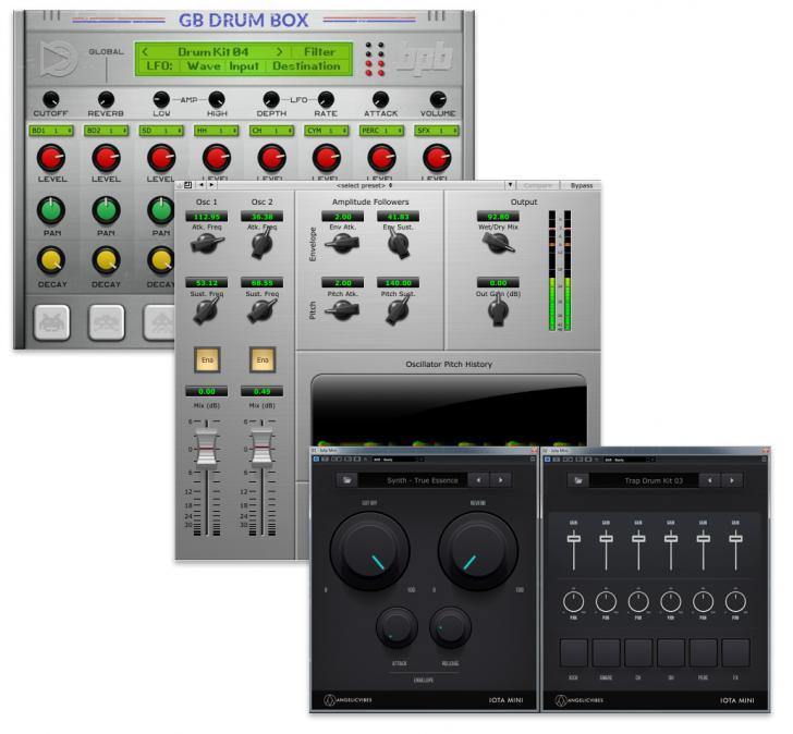 Download nieuwe freeware! GB Drumbox, Thump, Iota Mini