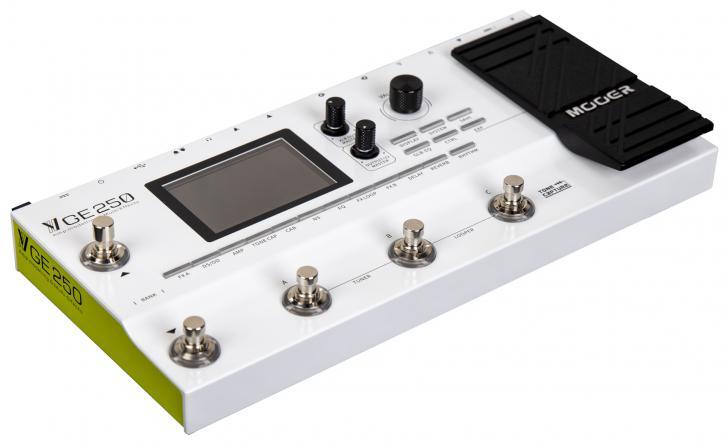 Mooer kondigt betaalbare GE250 multi-effect/modelingunit aan
