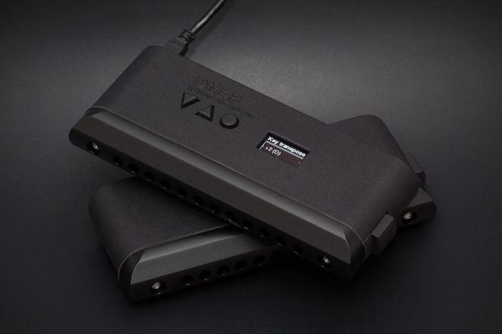 NammShow 2020 - Lekholm DM 48 Digital harmonica