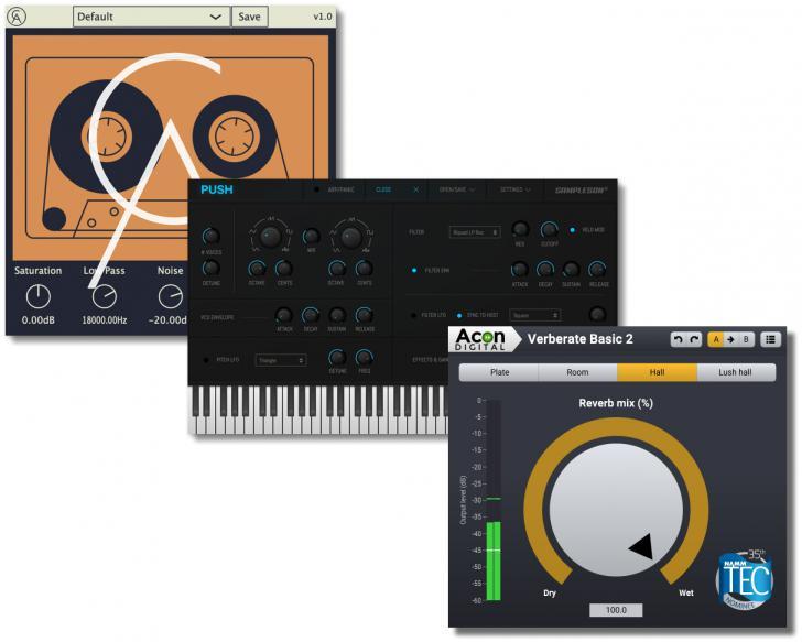 Download nieuwe freeware! Verberate Basic, Tape Cassette, Push