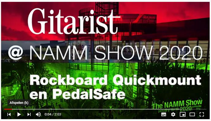 NAMM 2020 beursnieuws: RockBoard