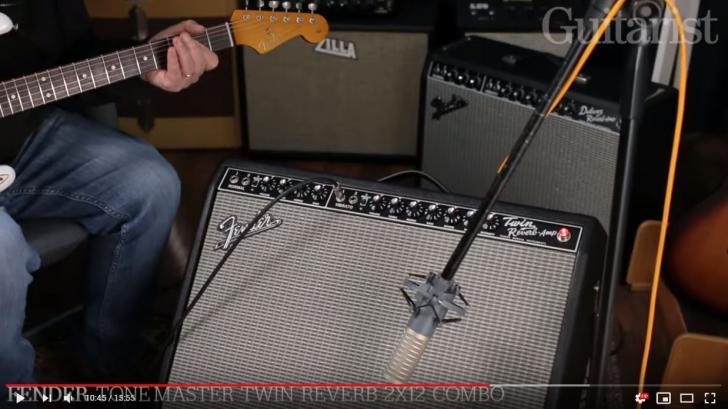 Video bij de Fender test in Gitarist 348