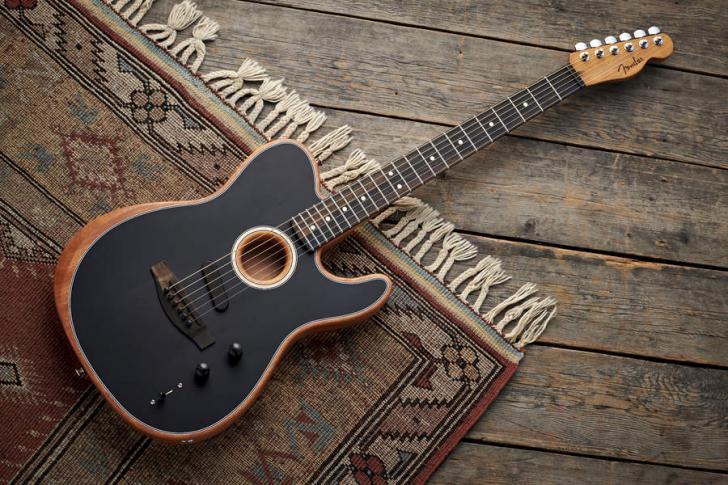 Fender Acoustasonic Telecaster - Akoestische gitaar van het jaar - Gitarist Poll Awards 2020