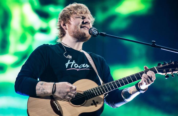 Ed Sheeran - Akoestische gitarist van het jaar Wereld - Gitarist Poll Awards 2020