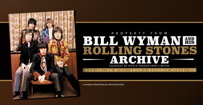 Bill Wyman gaat naar de veiling