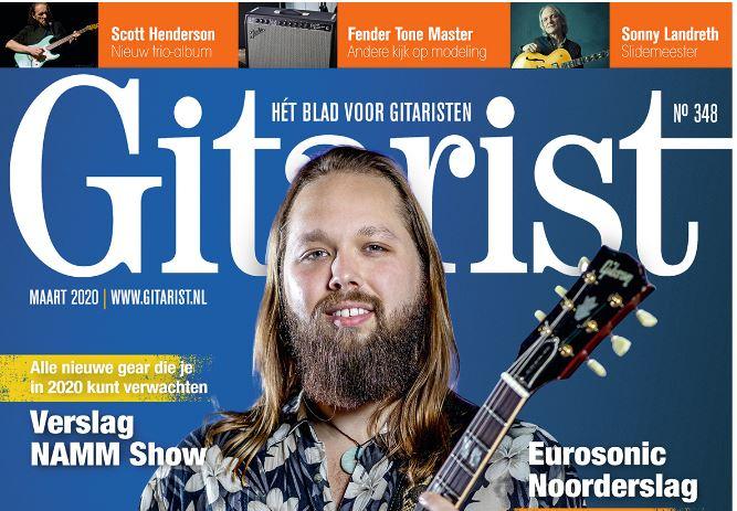 Gitarist maart-editie nu in de winkel en bij de abonnee's