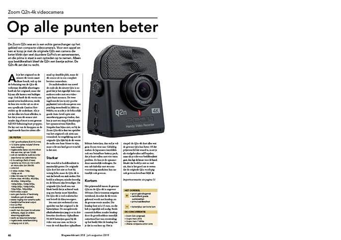 Zoom Q2n-4k videocamera