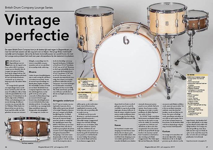 British Drum Company Lounge Series