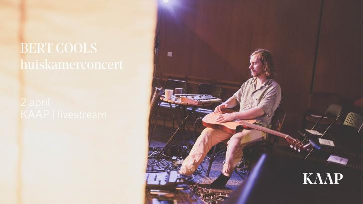 Vanavond do 2 april 20u! Bert Cools - Kaap Livestream
