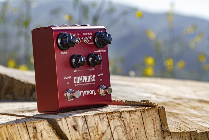 Compadre: de analoge compressor/boost van Strymon