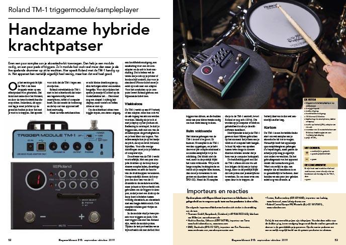Roland TM-1 triggermodule/sampleplayer
