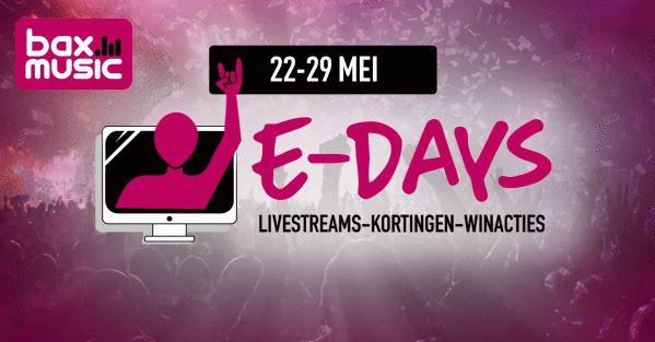 Bax Music e-Days online event 2020 terugkijken - de Gitarist-selectie