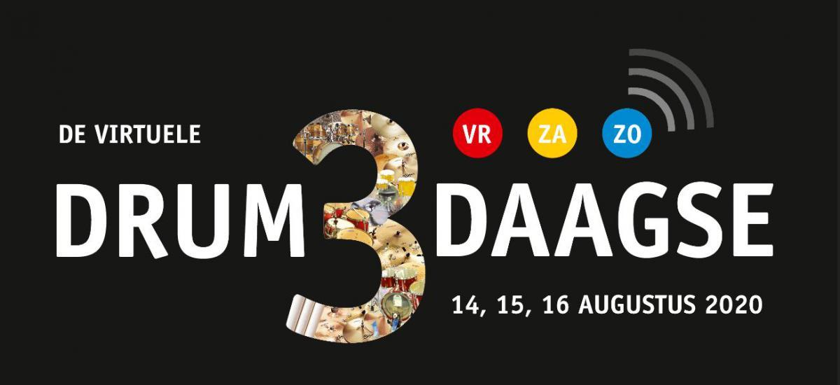 14 videoworkshops van De Virtuele DrumDrieDaagse - 14-15-16 augustus 2020