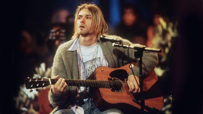 Record opbrengst voor Kurt Cobain's MTV Unplugged gitaar