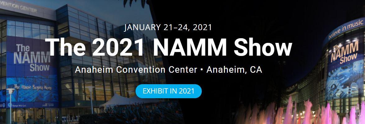 NAMM Show in januari gaat door