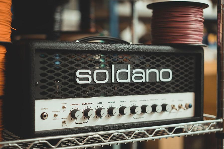 Soldano is terug met 30 watt top