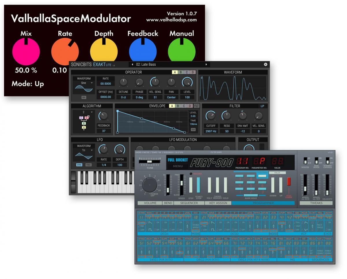 Download nieuwe freeware! SpaceModulator, Exakt Lite, Fury-800