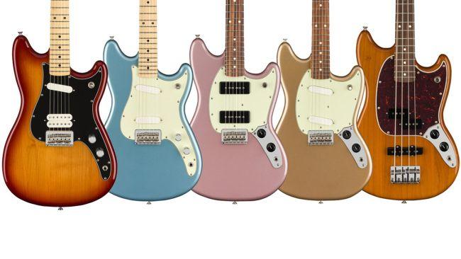 Nieuwe Offset modellen in Fender Player Serie