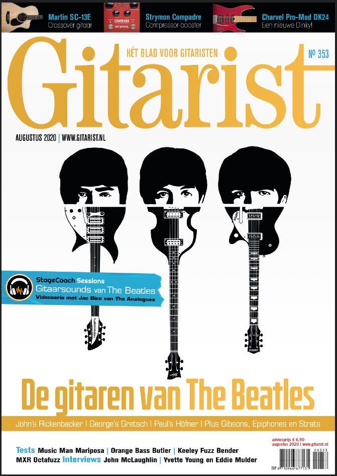 Zomereditie Gitarist met Beatles Special nu in de winkel - of bestel 'm bij ons