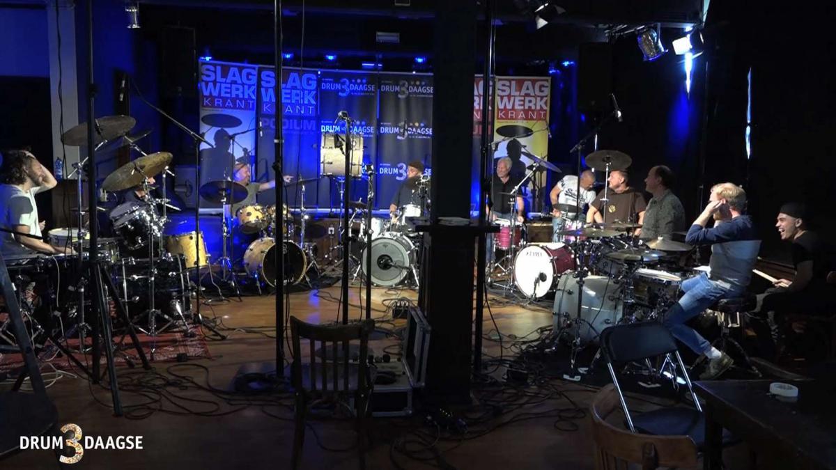 D3D Videoworkshop Fred Cohen drummersgroep - De Virtuele DrumDrieDaagse