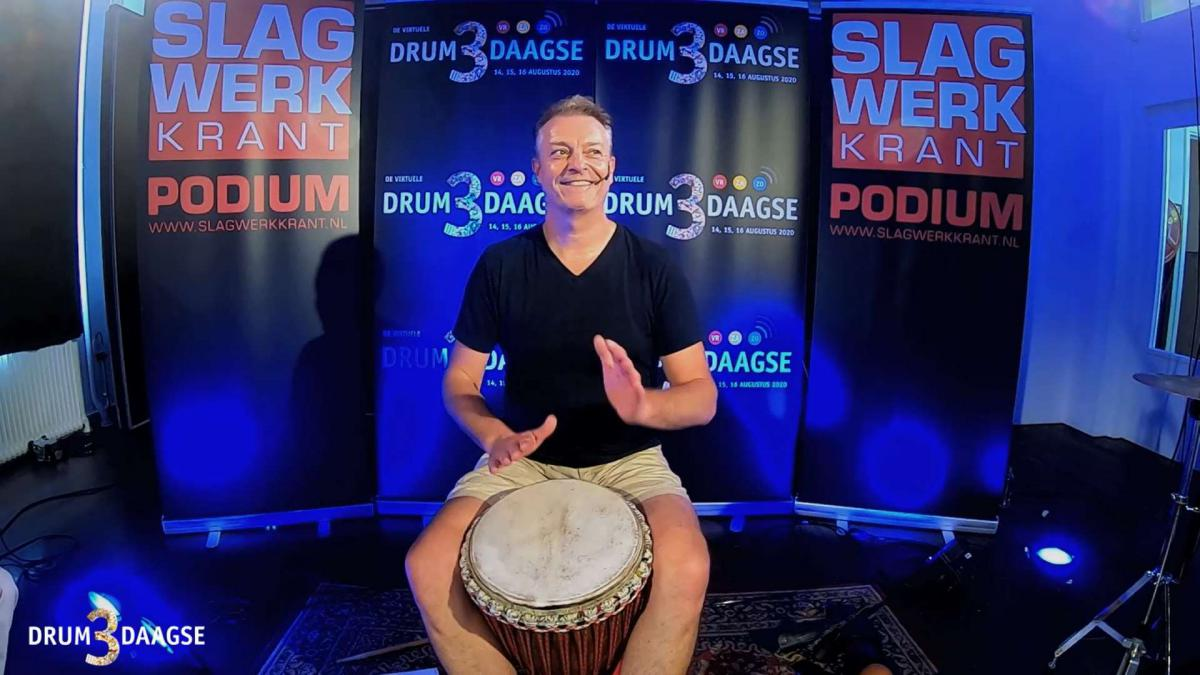 D3D Videoworkshop René Spierings - De Virtuele DrumDrieDaagse