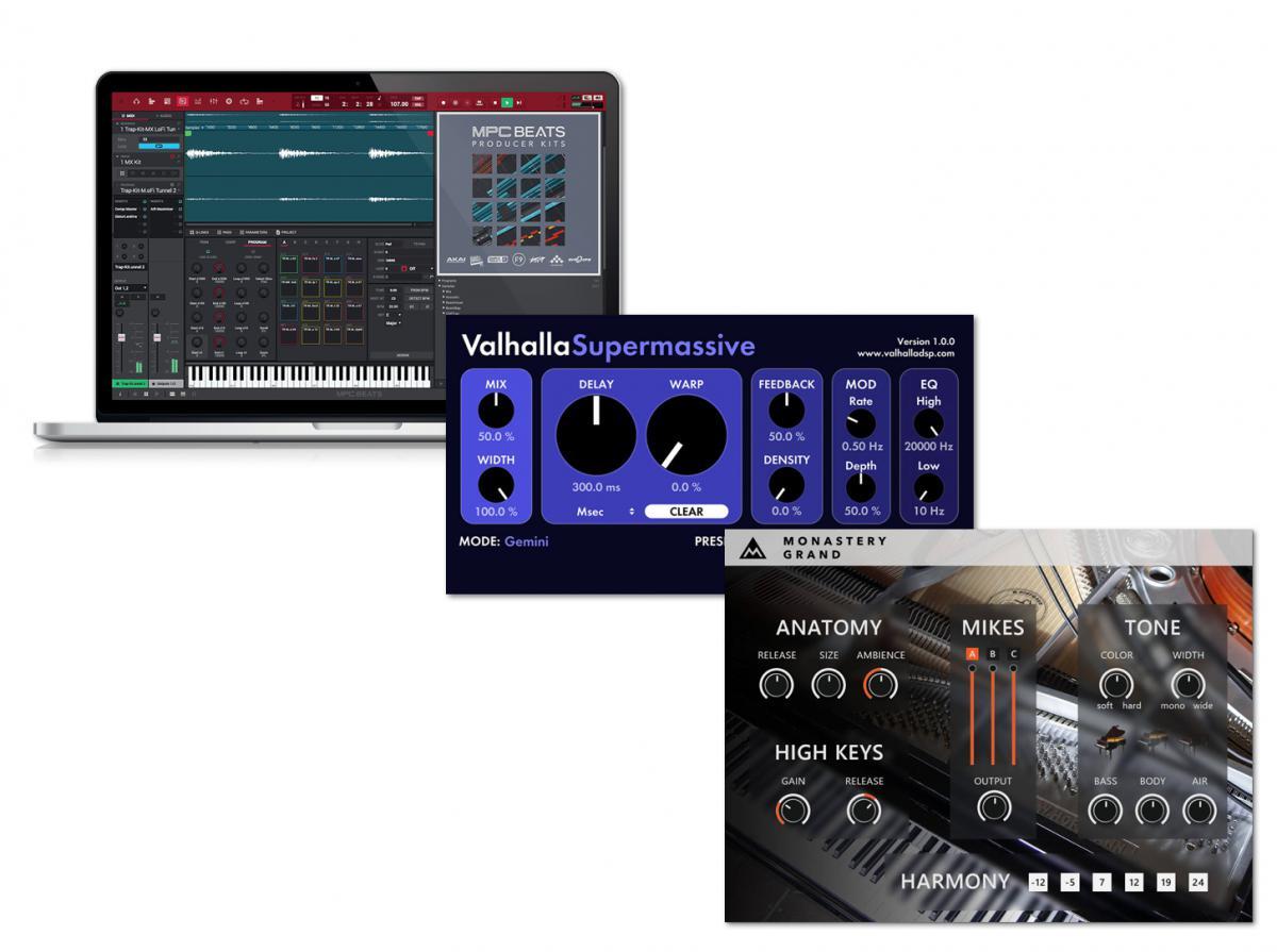 Download nieuwe freeware! MPC Beats, Supermassive, Monastery Grand
