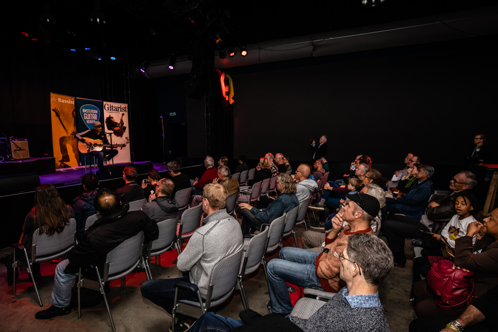 Amsterdam Guitar Heaven gaat plaatsvinden op zaterdag 20 november 2021