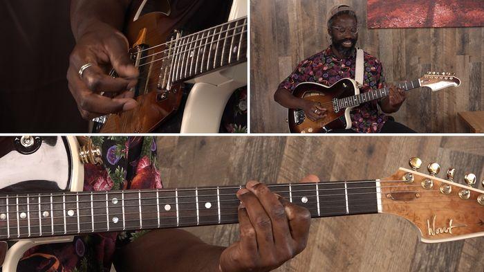 Workshop neo-soul gitaar en productie door Rory Ronde in videoserie StageCoach Sessions