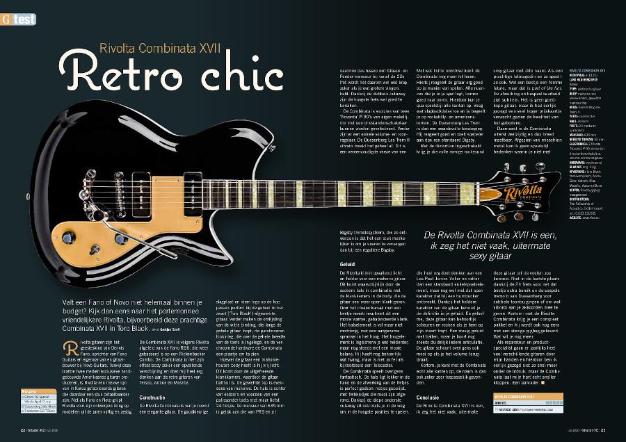 Rivolta Combinata XVII - test uit Gitarist 352