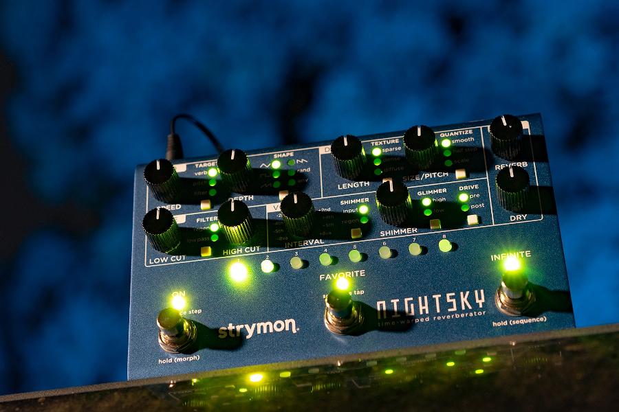 Droom weg met de Strymon NightSky