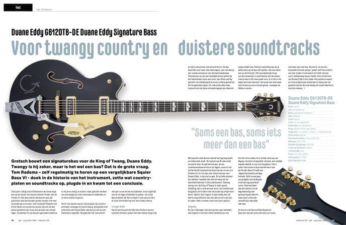 Gretsch G6120TB-DE Duane Eddy Signature Bass