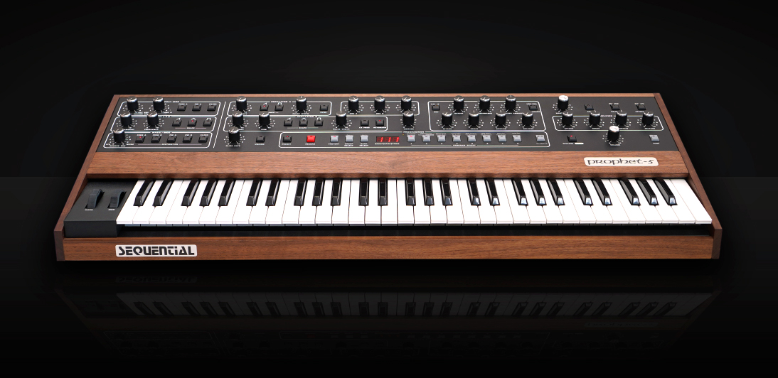 Sequential Prophet-5 re-issue 2020