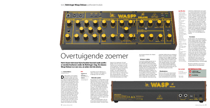 Behringer Wasp Deluxe synthesizermodule