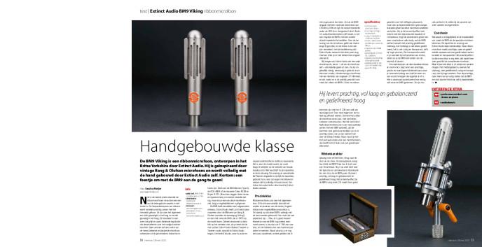 Extinct Audio BM9 Viking ribbonmicrofoon