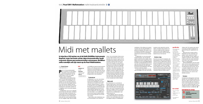 Pearl EM1 Malletstation mallet-keyboardcontroller