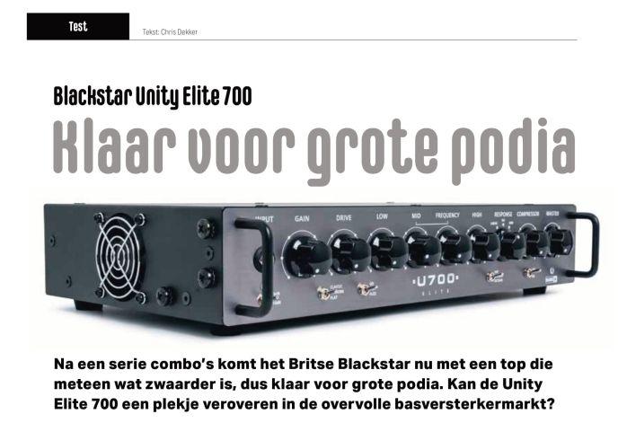Blackstar Unity Elite 700