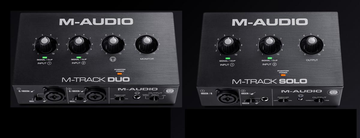 M-Audio M-Track Solo en Duo