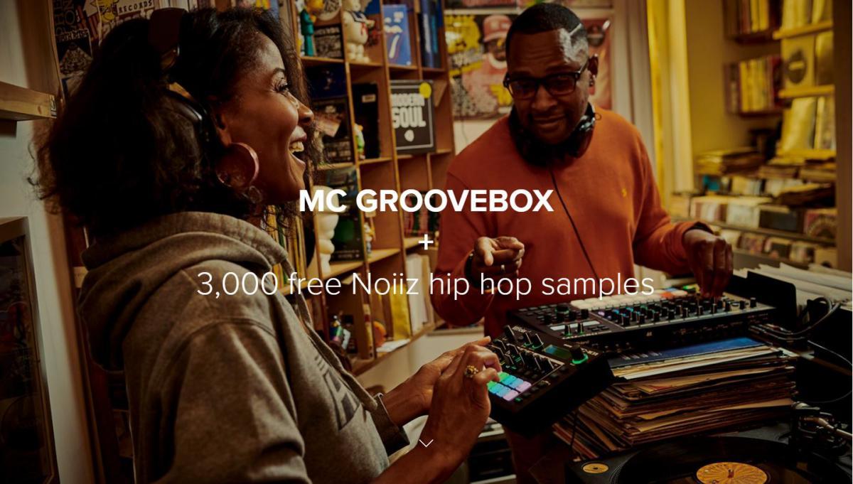 Koop uiterlijk 31-12 een Roland Groovebox en krijg er 3000 Noiiz-samples bij