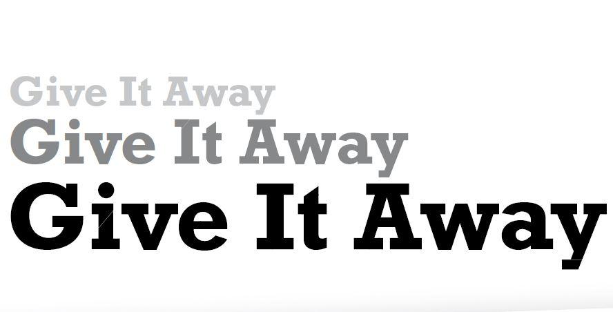 Binnenkort komt een nieuwe giveaway-actie online