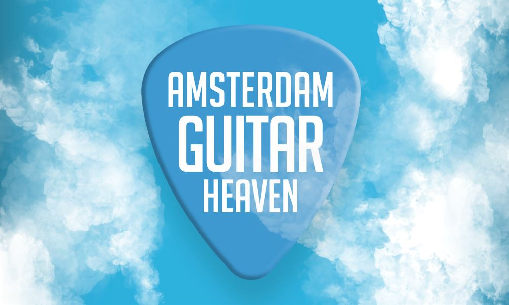 Amsterdam Guitar Heaven op zaterdag 20 november - Gearshow Gitaar & Bas - Workshopfestival - Avondshow