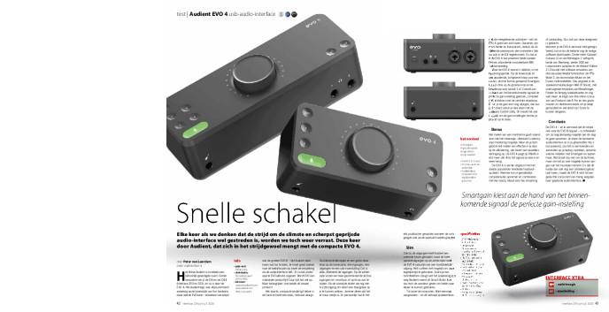 Audient EVO 4 usb-audio-interface