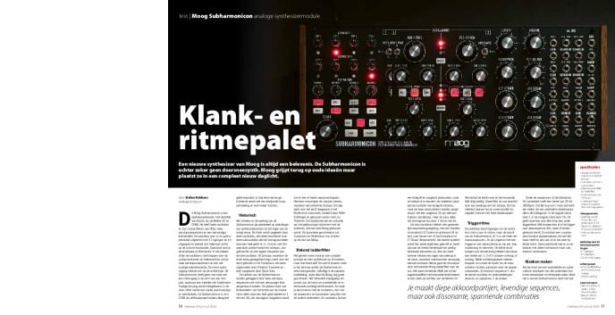 Moog Subharmonicon analoge synthesizermodule