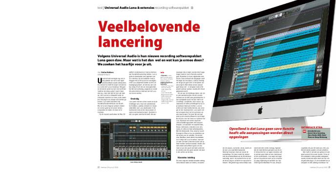 Universal Audio Luna & extensies recording-softwarepakket