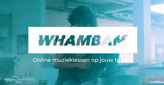WhamBam is het nieuwe online platform voor muzieklessen
