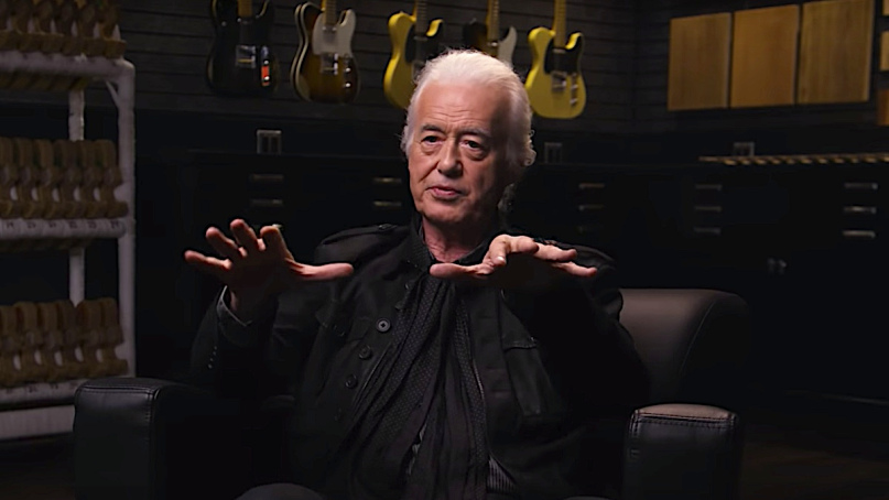 Jimmy Page over Led Zeppelin III en The Anthology