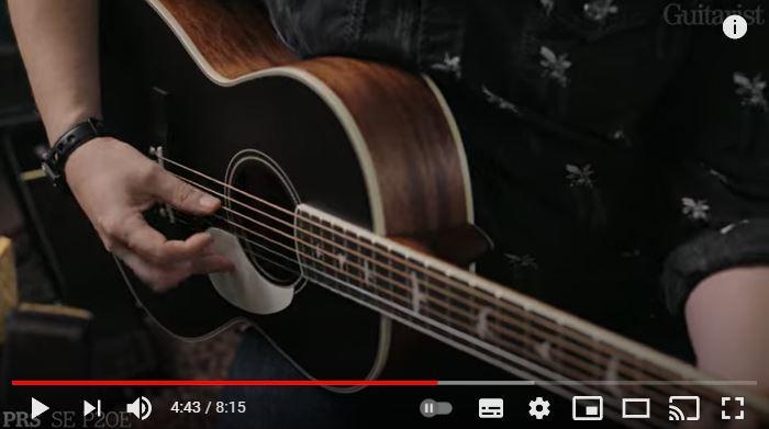 Video bij de PRS test in Gitarist 359