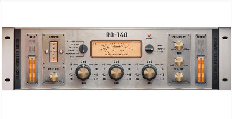 Black Rooster Audio RO-140 Vintage Plate Reverb