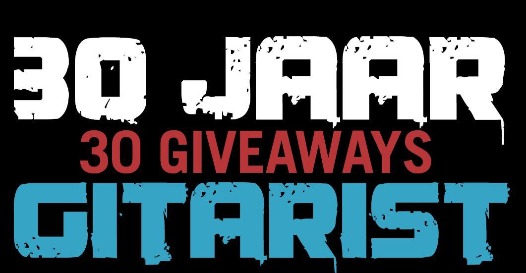 Uitslag 30 jaar Gitarist - 30 Giveaways